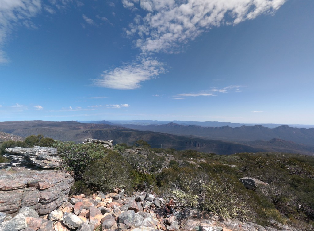 From the top of Mt William
